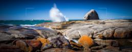 Blowhole, Bicheno, Tasmania - Steve Rutherford Landscape Photography Art Gallery