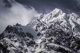 Peak, Remarkables, NZ - Steve Rutherford Landscape Photography Art Gallery