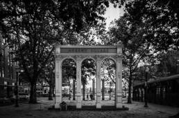 Ankeny Plaza, Portland, Oregon - Steve Rutherford Landscape Photography Art Gallery