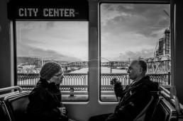 TriMet Travellers, Portland, Oregon- Steve Rutherford Landscape Photography Art Gallery