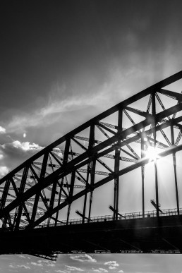 Sparkle, Sydney Harbour Bridge, Australia - Steve Rutherford Landscape Photography Gallery
