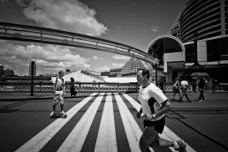 Running Man, Darling Harbour, Sydney - Steve Rutherford Landscape Photography Gallery