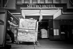 Delivery, Sydney City, Australia - Steve Rutherford Landscape Photography Art Gallery