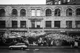 Art Facade, Pioneer Square, Seattle - Steve Rutherford Landscape Photography Gallery