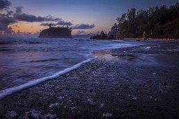 Shoreline, Ruby Beach, Olympic Peninsula - Steve Rutherford Landscape Photography Gallery