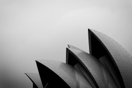 Shells, Sydney Opera House - Steve Rutherford Landscape Photography Art Gallery